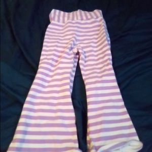 Other - Purple and white striped pants